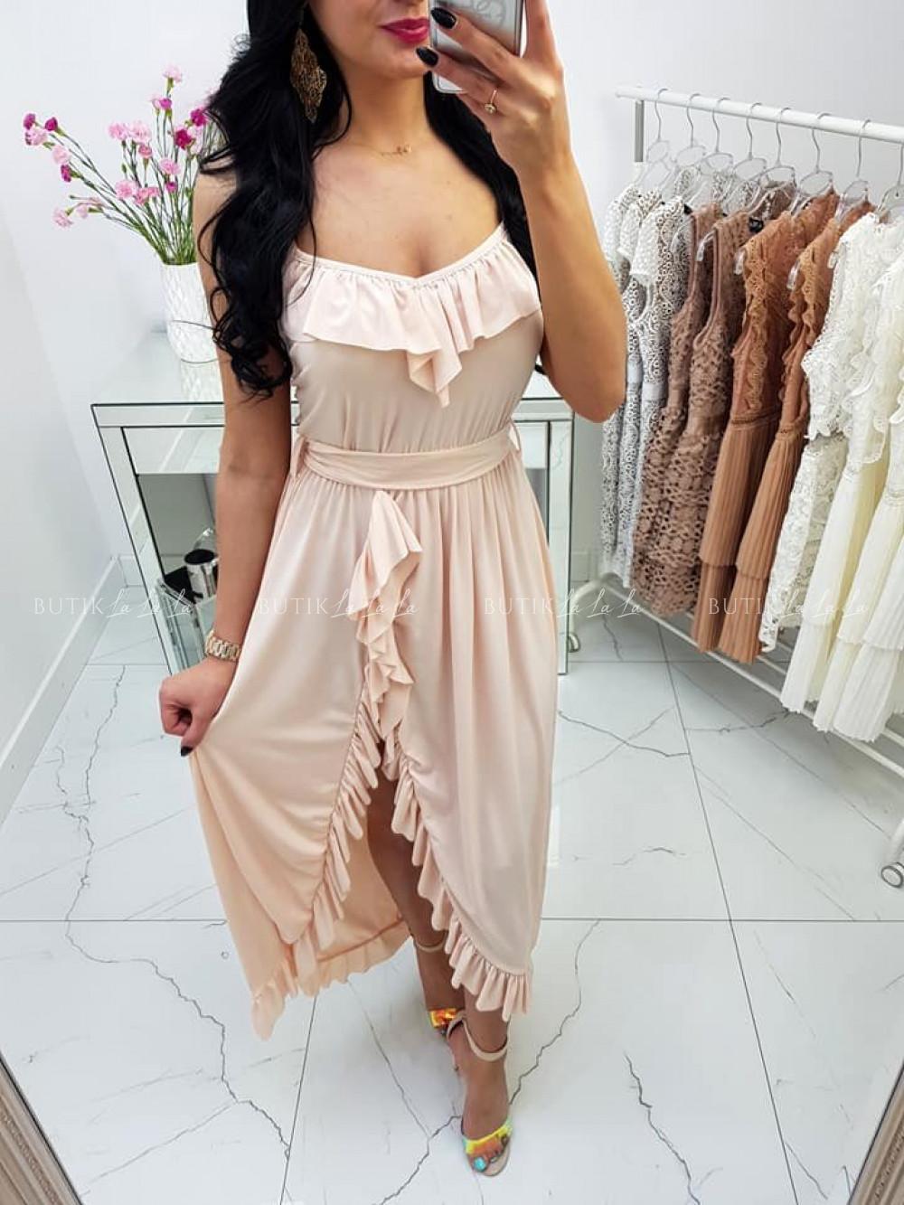 Sukienka Liamo Nude - butiklalala.pl