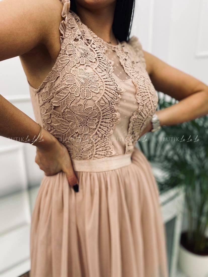 Sukienka Liamo Black-Nude - butiklalala.pl