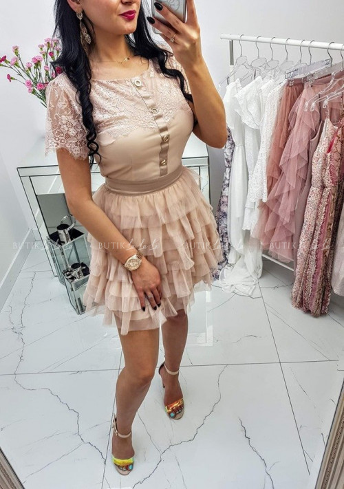 Sukienka Grecca Nude