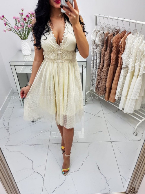 Sukienka Camila Ecru