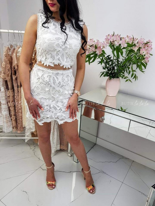 Sukienka Klara White