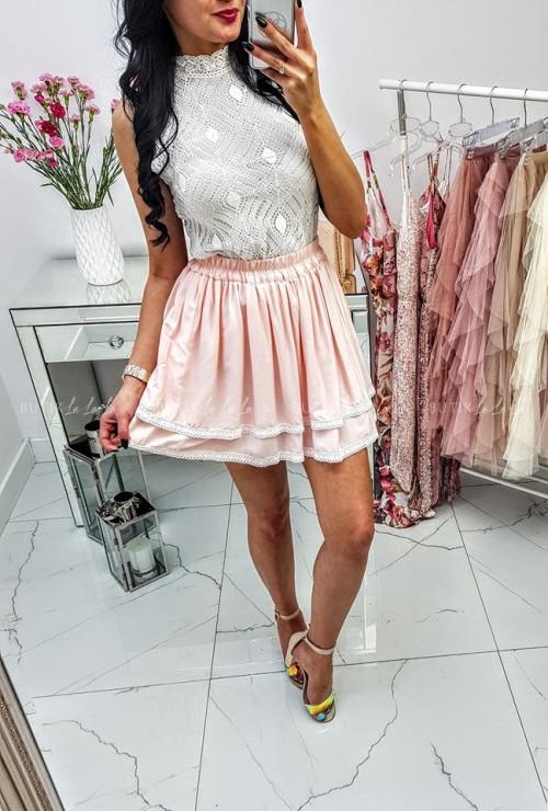 Spódniczka Kami Mini Powder Pink
