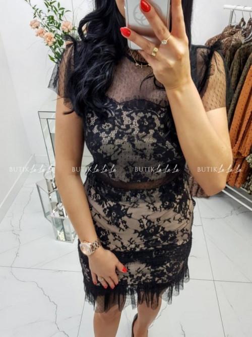 Sukienka Czarna Nelly