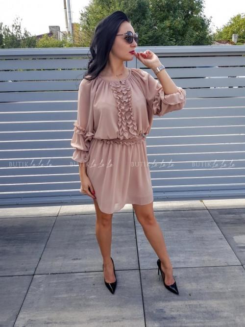 Sukienka beżowa Kimmi