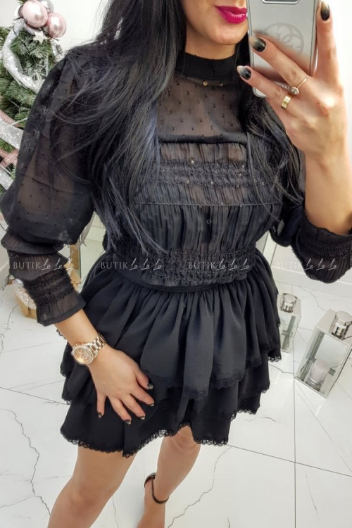 Bluzka Czarna Vanessa