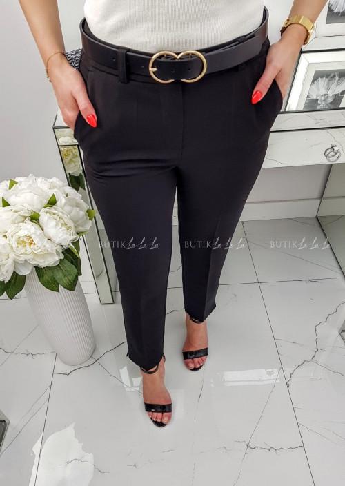 Spodnie Czarne Eleganckie SEMPRE