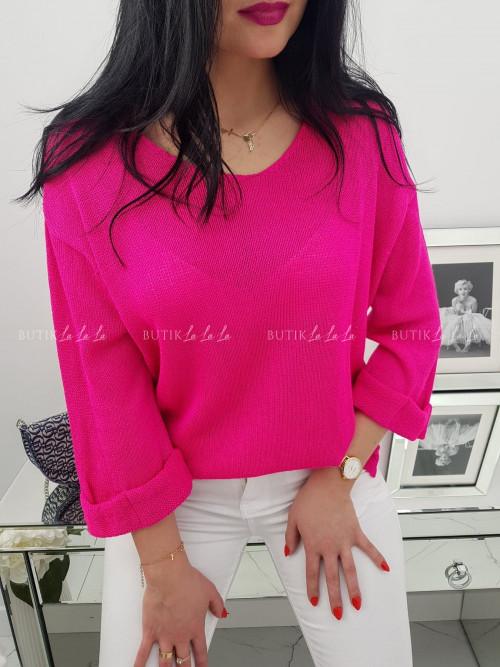 Sweter Różowy Neo