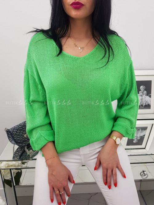Sweter Zielony Neo