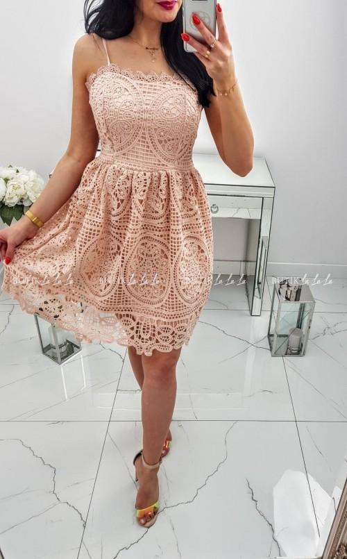 Sukienka Różowa Marii