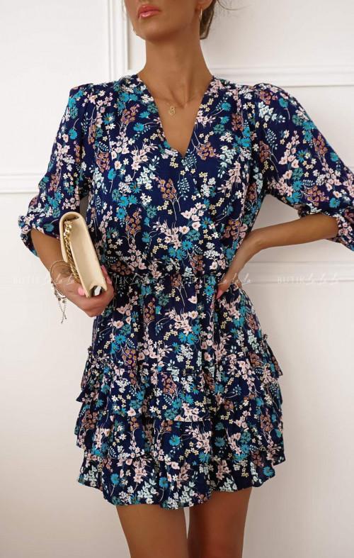 Sukienka w kwiatki Suzan
