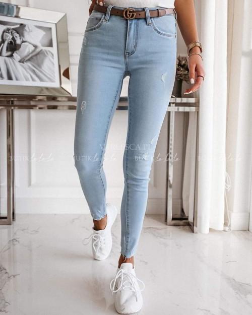 Spodnie Nota jeans light blue
