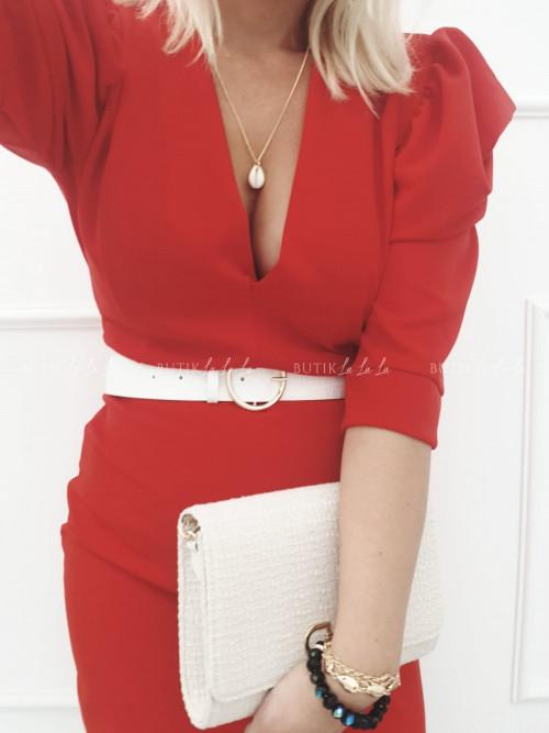 Sukienka Czerwona Etna