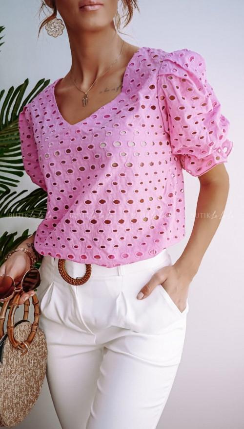 Bluzka Różowa Neli