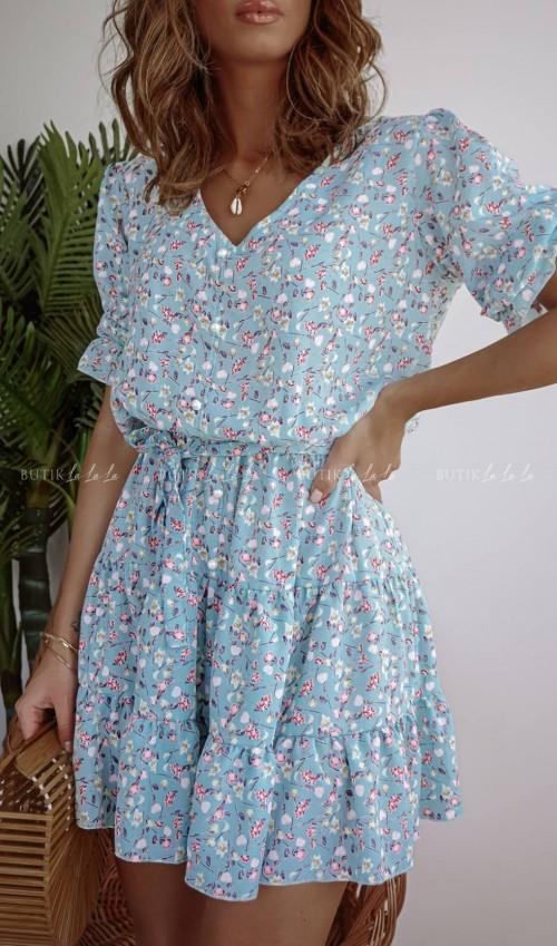 Sukienka w kwiatki Lussi