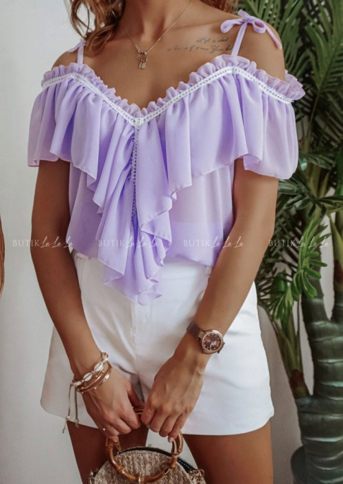Bluzka lila
