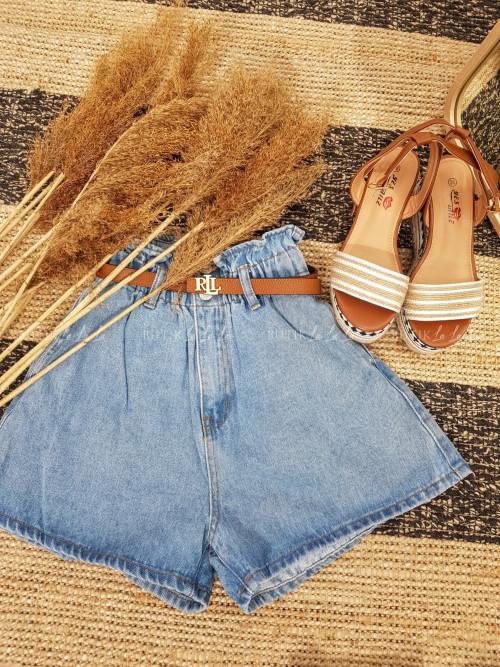 Spodenki jeans blue Ambi