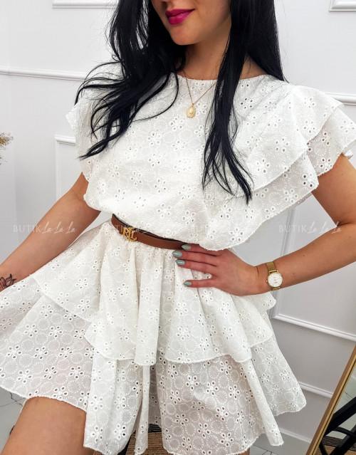 Sukienka kremowa Liza