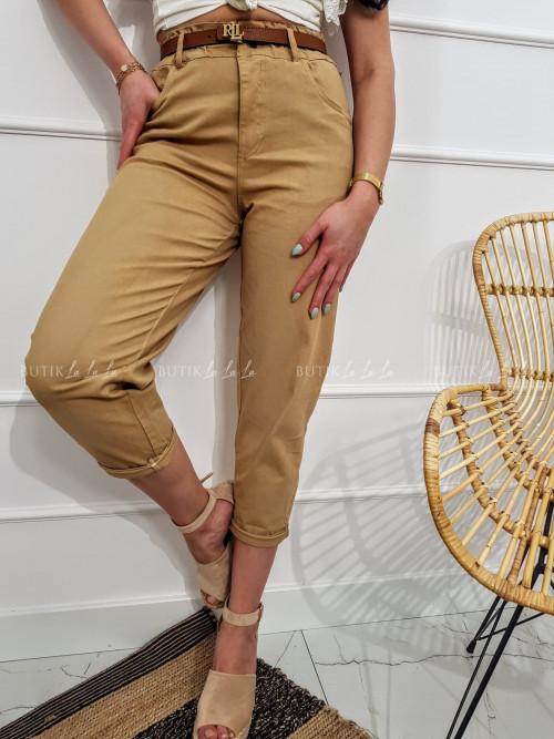 Spodnie beżowe Dario