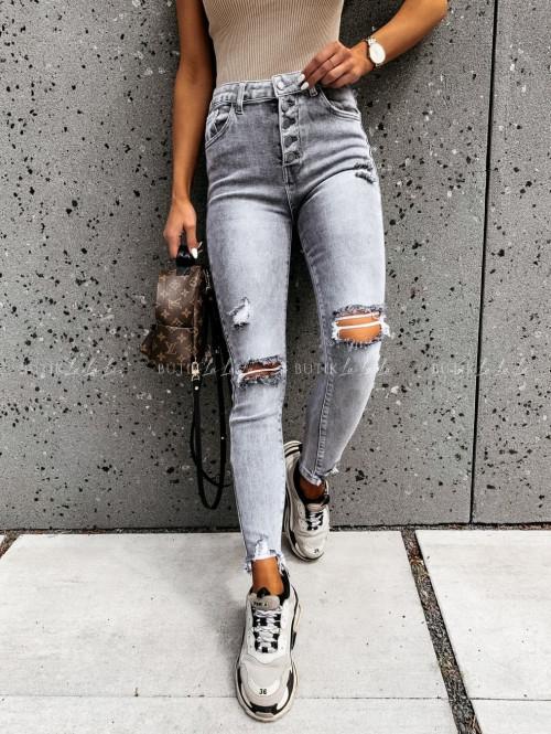 Spodnie jeans szare Silven