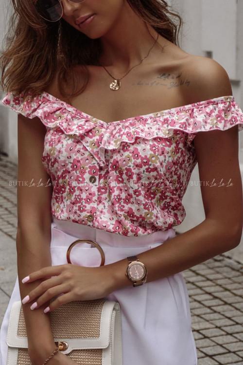 bluzka w kwiatowy print Verona