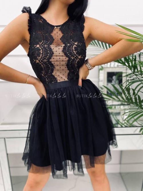 Sukienka Liamo Black-Nude