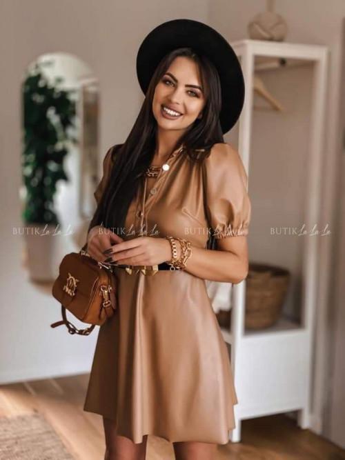 sukienka camelowa Prima