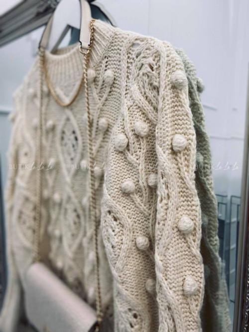 sweterek kremowy Golden
