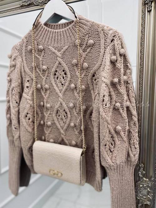 sweterek beżowy Golden