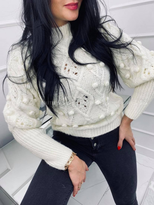 sweterek biały Golden
