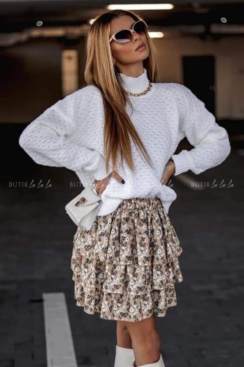 sweter biały Lilo