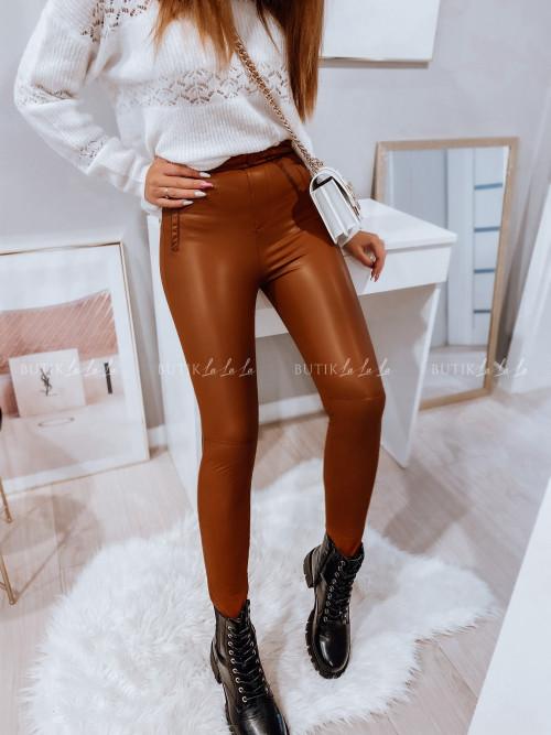 spodnie camelowe Stivia