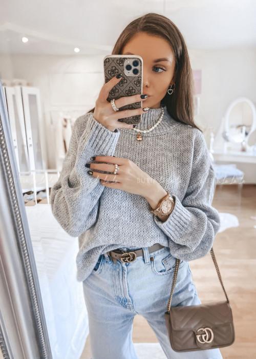 sweterek szary Mili