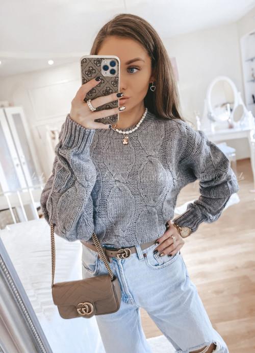sweterek szary Kalsy