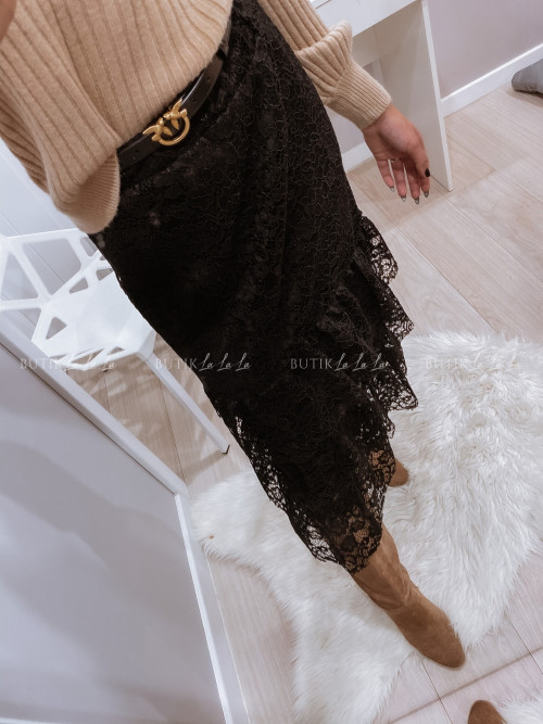 Spódnica Czarna koronkowa Vivian