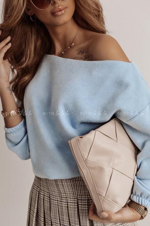 sweterek błękitny Kors