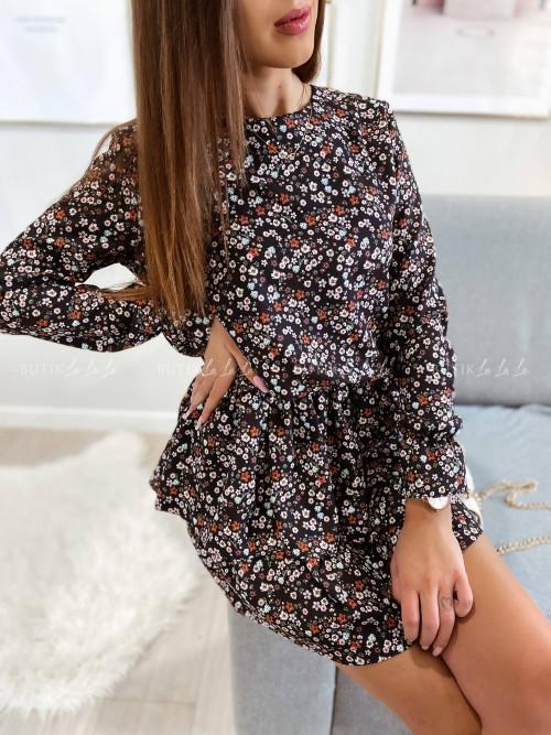 Sukienka w kwiatowy print Inga