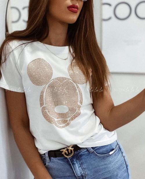 T-shirt biały Miki