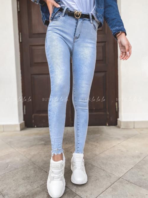 Spodnie jeans blue Elvasto