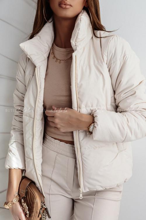 kurtka kremowa Casado