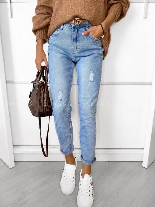 Spodnie jeans blue Warist