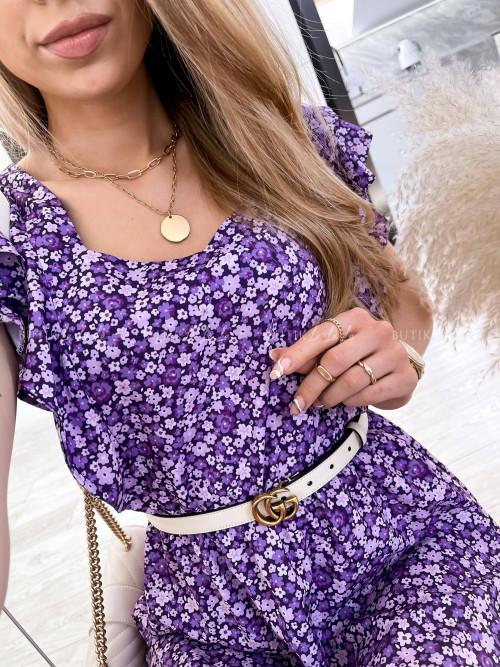 Sukienka Ciemny fioletowy Nilu