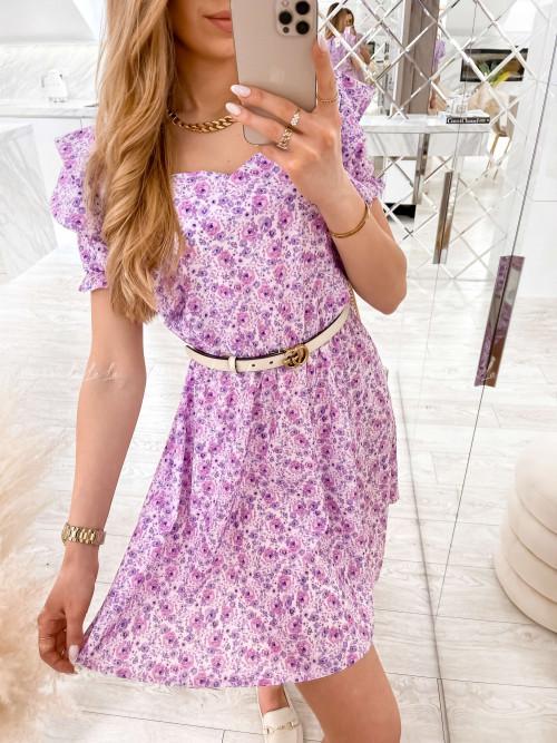Sukienka Jasny fioletowy Nilu