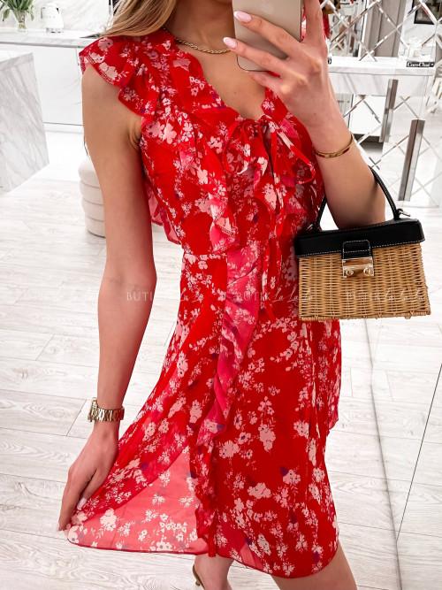 Sukienka Czerwona Lucie