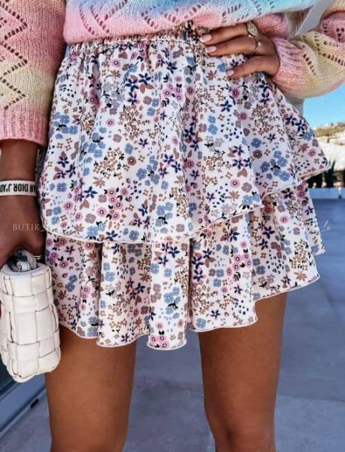 spódniczka w kwiatowy print Savita