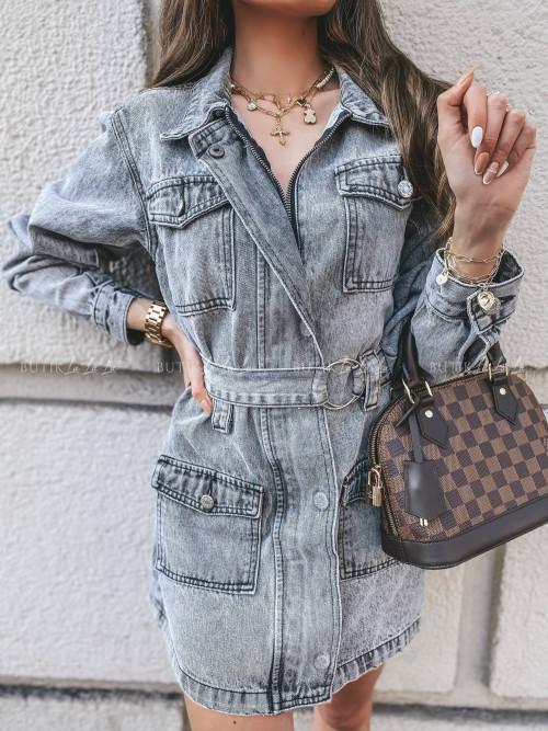 sukienka grey jeans Aprilla