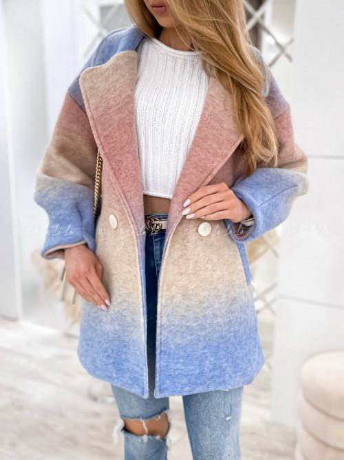 płaszcz wielokolorowy Firenze