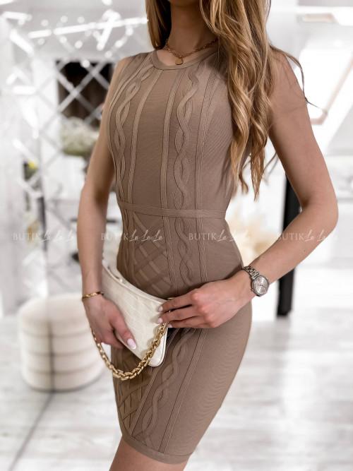 sukienka carmel Haria