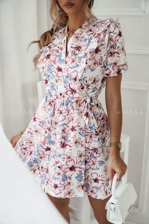 sukienka w kwiatowy print Rozalia