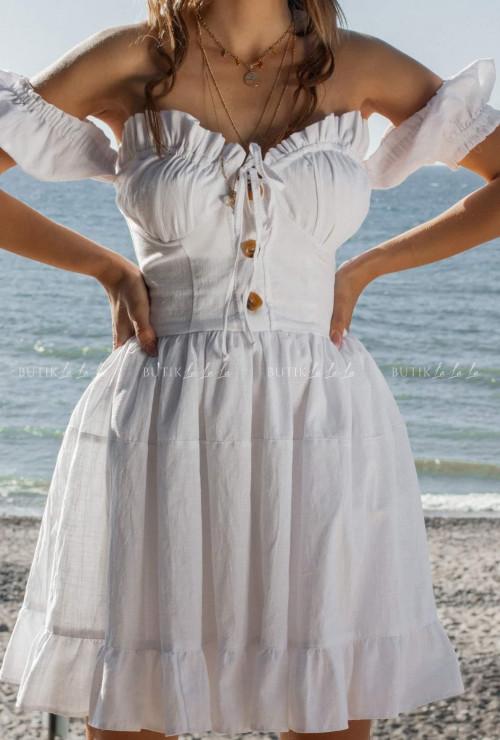 biała sukienka Felissa