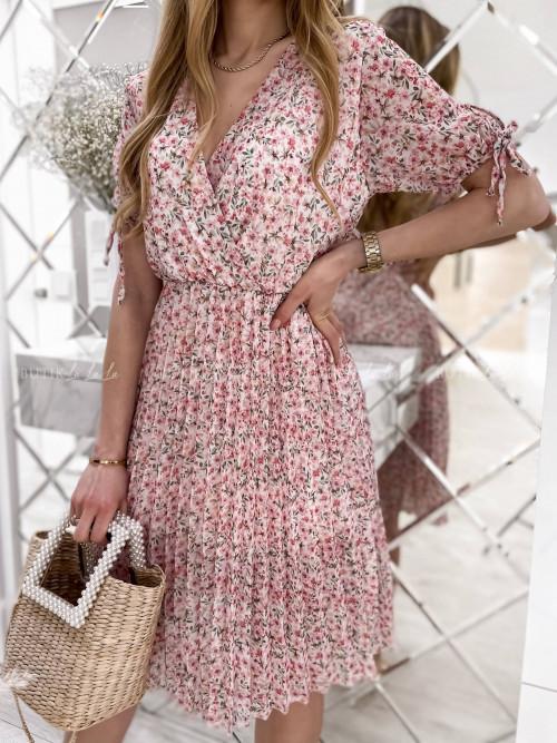 sukienka w kwiatowy print Bonita